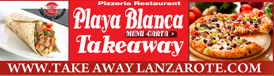 Pizza Takeaway Pizzeria El Tonel, Takeaway Playa Blanca, Lanzarote, food Delivery Lanzarote, Yaiza