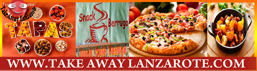 Berrugo, Tapas & Pizza Takeaway, Food Delivery Playa Blanca, Yaiza, Lanzarote