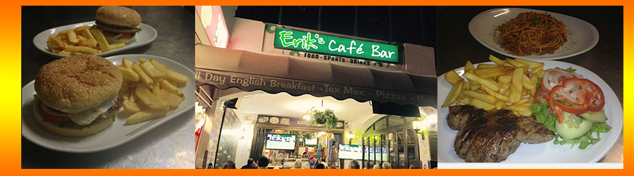 Eriks Spanish-British Takeaway, Costa Teguise, Lanzarote