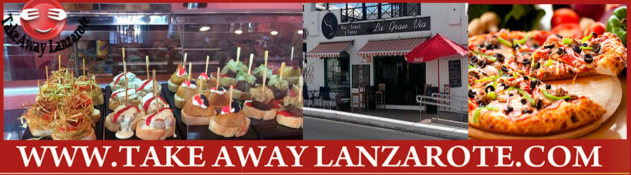 Gran Via Tapas Restaurant Playa Blanca - Tex Mex Playa Blanca - Variety of Dishes to Dine in or Takeout Delivert  Tapas & Pizza Takeaway, Food Delivery Playa Blanca, Yaiza, Lanzarote
