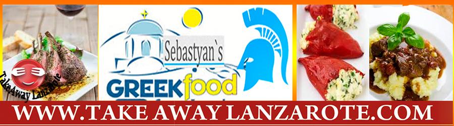 Sebastyans Restaurant Greek Fusion Cuisne, Playa Blanca Takeaway food delivery Yaiza, Femes - Lanzarote