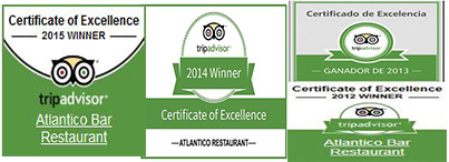 Atlantico Restaurant , Playa Blanca, Lanzarote
