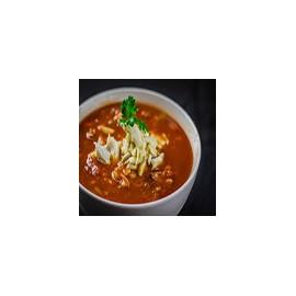 Sopa de cangrejo y maíz dulce