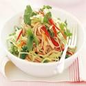 Thai Salad (Lechuga, aguacate, gambas, espárragos)