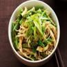 Japanese salad (Lechuga, pepino, gambas, algas y verduras)