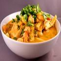 Pollo con Salsa Roja de Curry