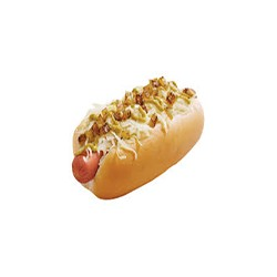 Hot Dog with Onion & Cheese