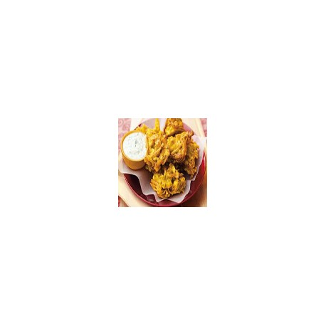 6 Onion Bhaji