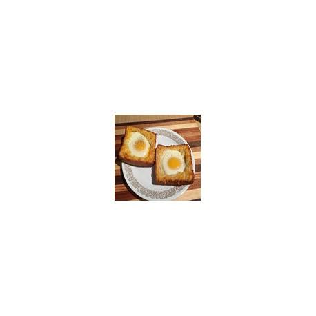 Huevo Frito en Pan Tostado