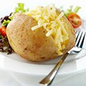 Jacket Potato con Queso