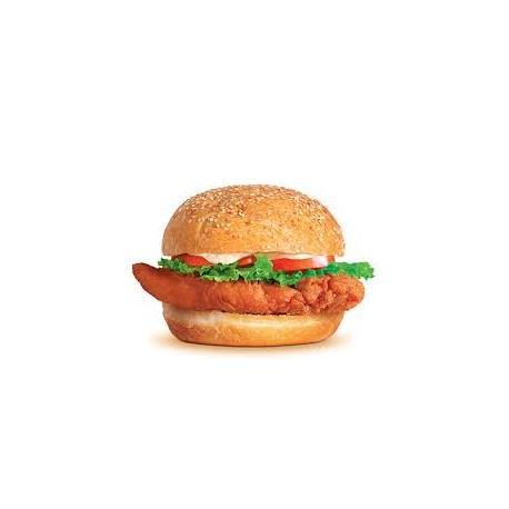 Hamburguesa de Pollo Picante