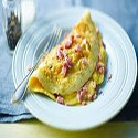 Omelettes with Ham