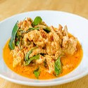 Cerdo con salsa de curry