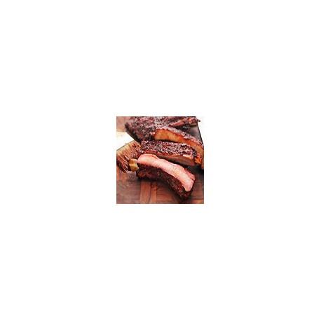 Costillas de repuesto con salsa de barbacoa