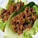 Yuk Sung chicken (minced chicken in fresh lettuce)