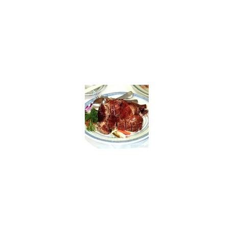 Pato de Pekín con salsa cantonesa