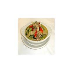Pork with Thai green curry