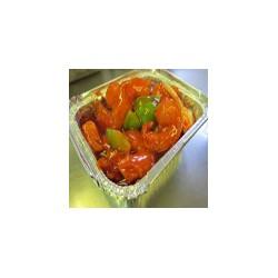 Langostinos con salsa cantonesa
