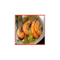 King prawn Bangkok style