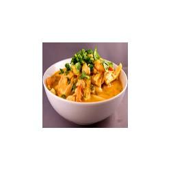Curry rojo tailandés especial (pollo, ternera, gambas)