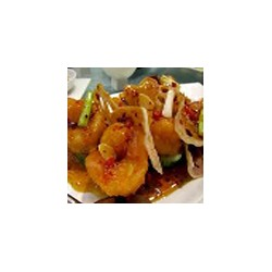 King prawns and chicken with chinese sauce