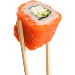 Salmon Maki Roll 8p