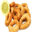 Squid rings and chips