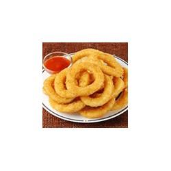 Arros de cebolla frita