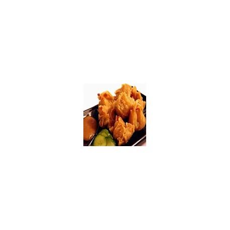 Fried vegetable Wan Tun
