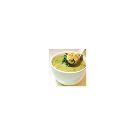 Vegetables with Thai green curry
