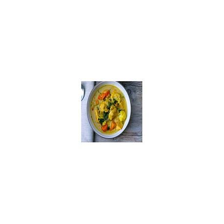 Vegetables with Chinese curry sauce