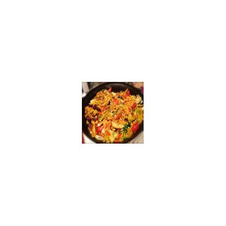 Paella de Verduras (2 pers)