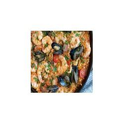 Paella de Pescado y Mariscos (2 pers)