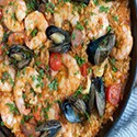 Fish and Seafood Paella (2 pers)
