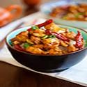 Pollo con Salsa Kunbao