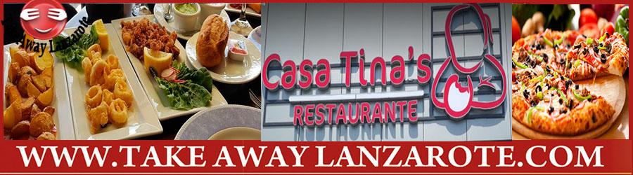 Casa Tina Restaurante de Tapas Puerto del Carmen - Variedad de comida a domicilio y para llevar Puerto del Carmen - Los mejores restaurantes espanoles Puerto del Carmen Lanzarote