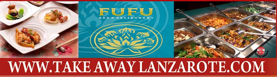 Comida China para llevar Fufu- Restaurante Chino reparto gratuito Lanzarote Puerto del Carmen, Puerto Calero, Tias, Macher