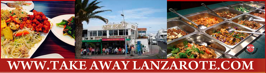 Asian Restaurant New World Chinese Delivery Restaurant Takeaway Puerto del Carmen, Food delivery Lanzarote, Lanzarote, food Delivery Lanzarote