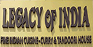 Legacy of India Indian Restaurant Takeaway Puerto del Carmen
