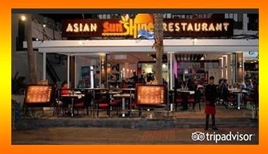 Asian Sunshine Restaurante - Chinese, Asian, Japanese, Thai  Restaurant in Puerto Del Carmen