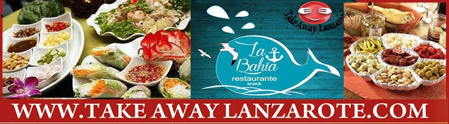 bahia Tapas Restaurant PlayaBlanca Takeaway
