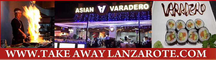 Asian Restaurant Asian Varadero Chinese Delivery Restaurant Takeaway Puerto del Carmen - Most Popular Asian Restaurants in Puerto del Carmen Lanzarote - Most Recommended Asian Restaurants in Puerto del Carmen Lanzarote Canarias Las Palmas