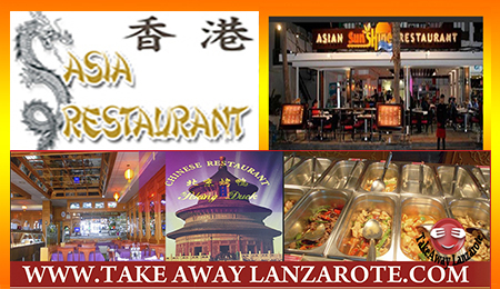 Most Recommended Chinese Restaurants with Delivery in Lanzarote Canarias Las Palmas