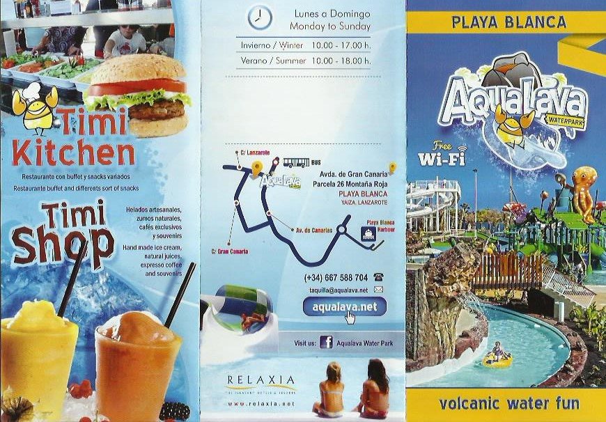 aqualava playa blanca lanzarote tours Best Things To Do Playa Blanca - Water Park Tours Playa Blanca