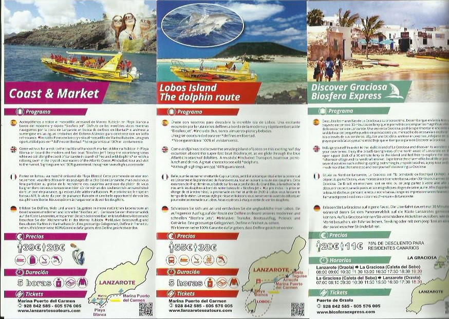 lanzarote sea tours lanzarote excursions - Taxi Lanzarote Airport Transfers Tours
