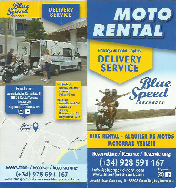 Moto Rentals Costa Teguise - Things to do Costa Teguise