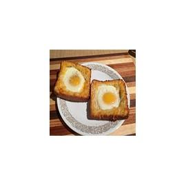 Tostadas con Huevos Fritos