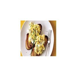 Scrambled Eggs and Toast