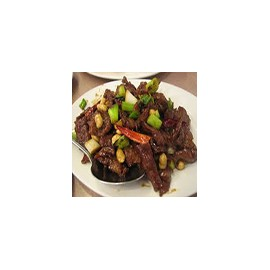 Kung-Po beef (sweet,sour,hot)