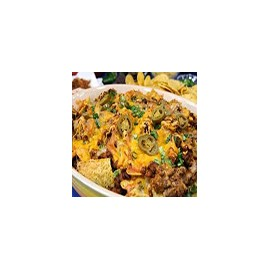 Nachos with Cheese and Chilli Meat